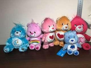 Care Bear Set Plush Toy / Soft Toy (Plush Toy Keychain / Carebear)
