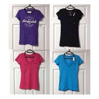 Aeropostale NWT T-Shirt Bundle 100% Cotton Size S