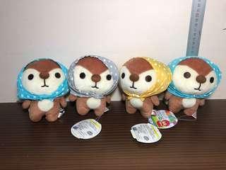 San-x Zukinhitotude Kireizuki Plush Toy / Soft Toy (Plush Toy Keychain / Sanx)