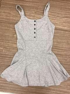 🚚 Grey Cute Skater Dress CLEARANCE