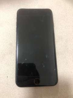 iPhone 7plus jack black 128gb
