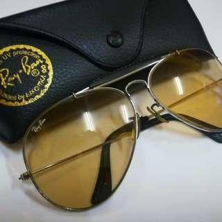 baced3981b571 Vintage Rayban BL Odm ll Half Leather