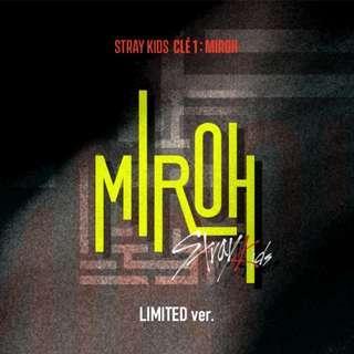 Stray Kids Mini Album Vol. 4 - Cle 1: Miroh (Limited Version)