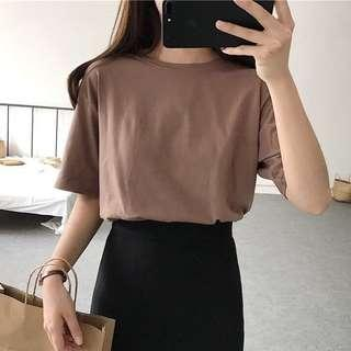 🚚 Plain oversized shirt