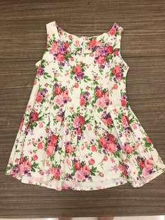 🚚 Floral Mini Dress Top CLEARANCE
