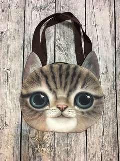 🚚 貓咪頭肩背包