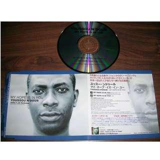 Youssou N'Dour My Hope Is in You 日版 宣傳盤 CD