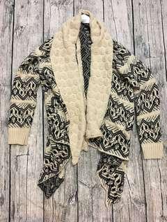 🚚 民俗風針織寬鬆外套