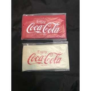 <紅色/白色> Cocacola 小袋