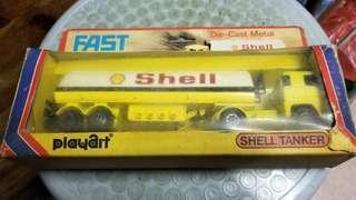 Shell TANKER Die-Cast Metal