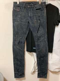 Diesel Jeans 洗水牛仔褲
