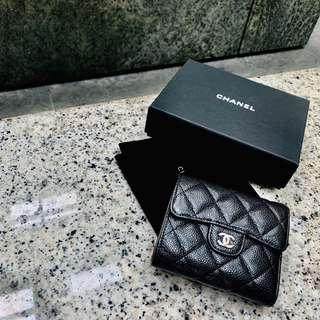 🚚 Authentic Caviar Chanel Wallet