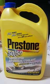 Prestone 50/50 Prediluted Extended Life Coolant 150,000miles/5yr  1 Gal 3.78L