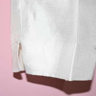 Shining White Pants