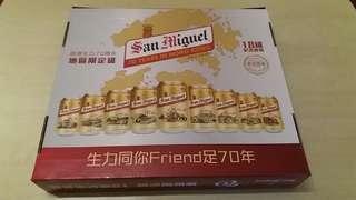 生力啤酒18區收藏版(有酒)
