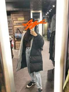 🚚 A&M購買正韓東大 長版鋪棉外套