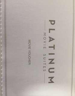 🚚 Platinum movie voucher