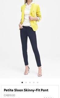 Banana Republic Sloan Pant - Size 0