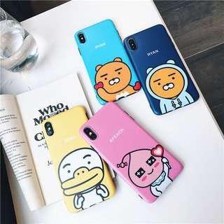 🚚 Preorder- KAKAO iPhone casing
