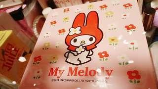 My melody三層式收纳盒