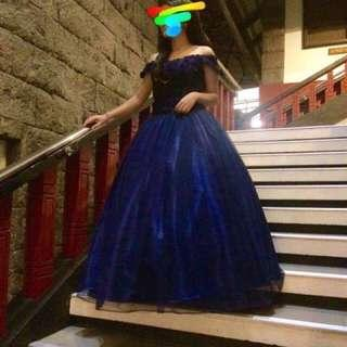 BALL GOWN FOR RENT!