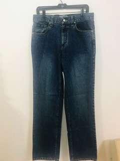 🚚 Hang ten 深藍色牛仔褲 32