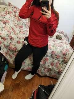 53e1e5a79e1a7d Jordan Red Long Sleeve