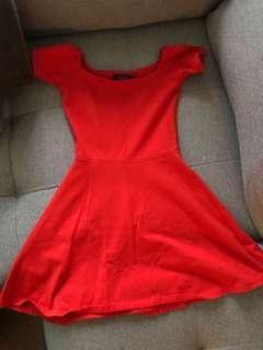 XS ASOS Skater Mini Dress