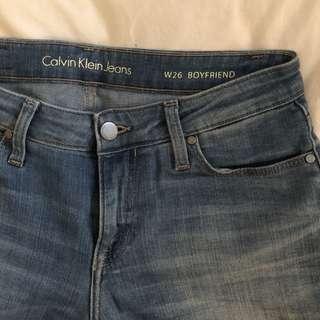Calvin Klein Boyfriend Jeans  W26