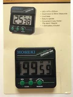 HOSEKI DIGITAL KITCHEN TIMER (free mailing normal postage)