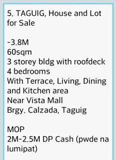 4 Bedrooms House and Lot Negotiable