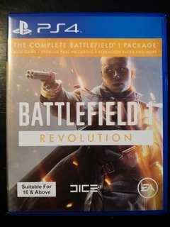 PS4 Used Game Battlefield 1 Revolution