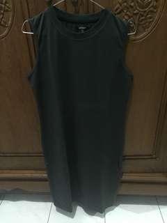 Dress abu hijau