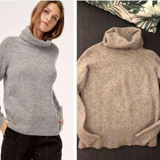 Babaton Sweater (grey, sz small, but fits more xs)