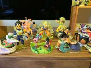 龍珠 2006絕版 場景 大蛋 一套6隻 包郵