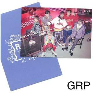 GOT7 Japanese Road2U trading card - Group