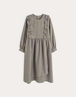 Brown Checker Dress