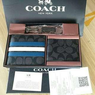 Coach Short Wallet & Cardholder For Men