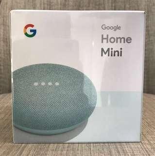 BNIB Blue Google Home Mini