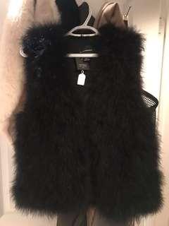 Club Monaco Real Feather Vest