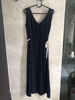 🚚 Casual Navy rope dress (Uk 10/12)