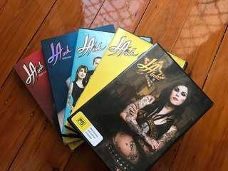 LA Ink DVD's