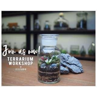Terrarium Workshop - 7th April 2019 (1pm to 3pm)