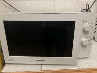 Samsung Microwave to let go
