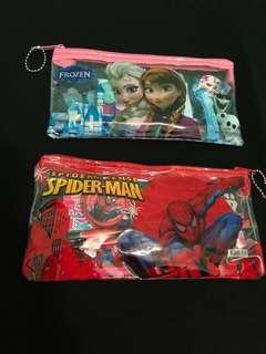 Brand New Children Stationery Set/Pencil Case/Frozen/Spiderman