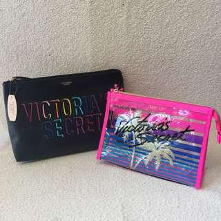 Authentic VS Cosmetic Pouch