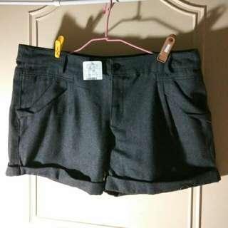 全新大尺寸毛料短褲3XL