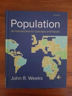 Population - An Introduction to Concepts and Issues