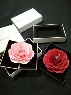 Grace Pop-up Rotating Ring Box for Proposal - REPRICED FROM 750
