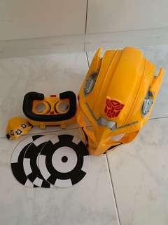 TRANSFORMER BEE VISION AR MASK